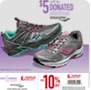 For each pair of select Saucony purchased, $5 will be donated to the March of Dimes