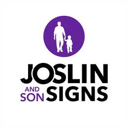 Joslin and Son Signs