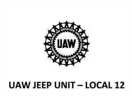 UAW Jeep Unit - Local 12